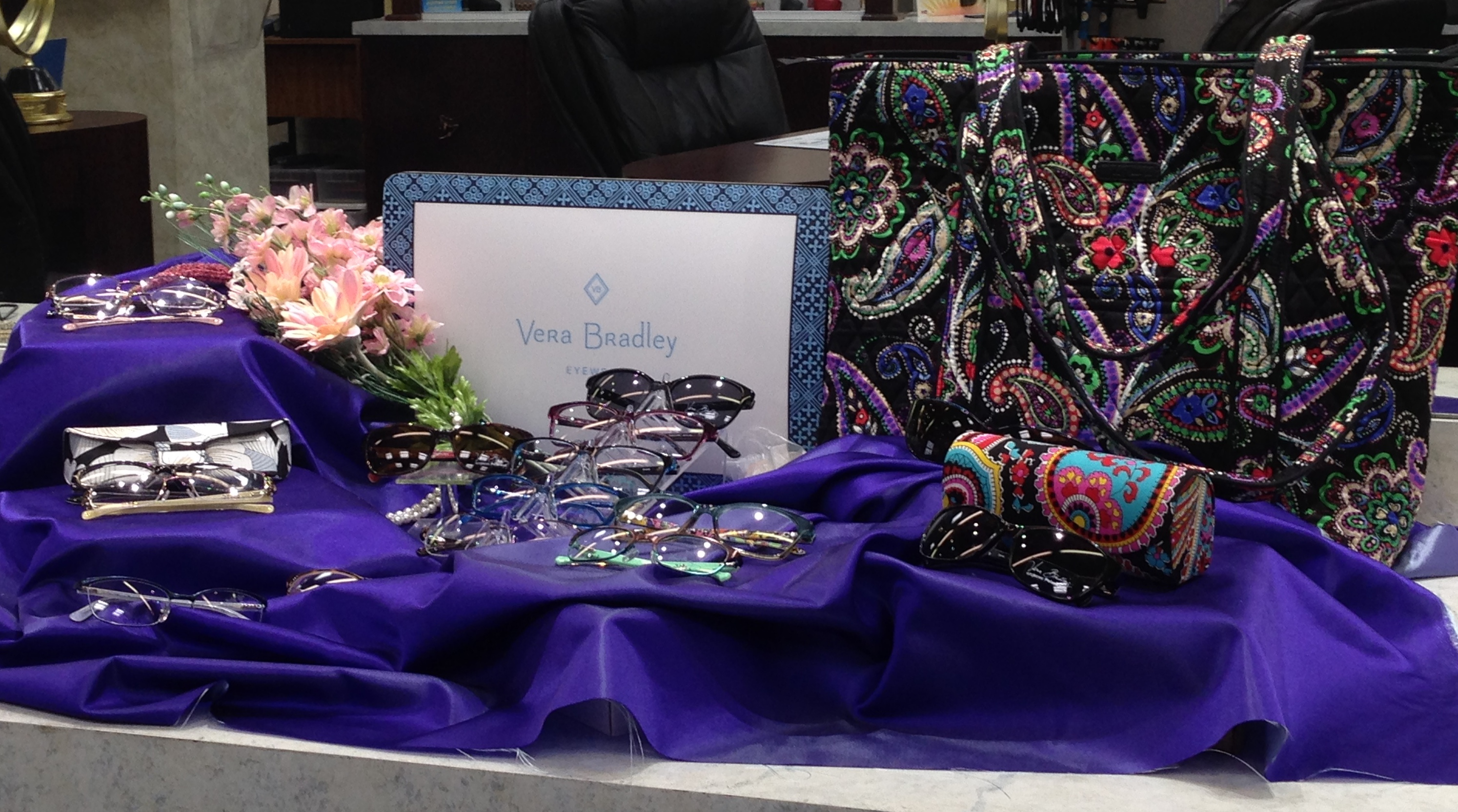Vera Bradley Frames & Sunglasses now at Longmeadow Eyecare